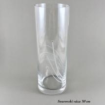 Swarovski váza 30 cm
